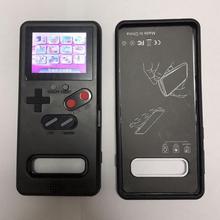 Pour Samsung Galaxy S10 classique étui de téléphone jeu affichage rétro Console de jeu couverture Vintage Gameboy écran étui de jeu