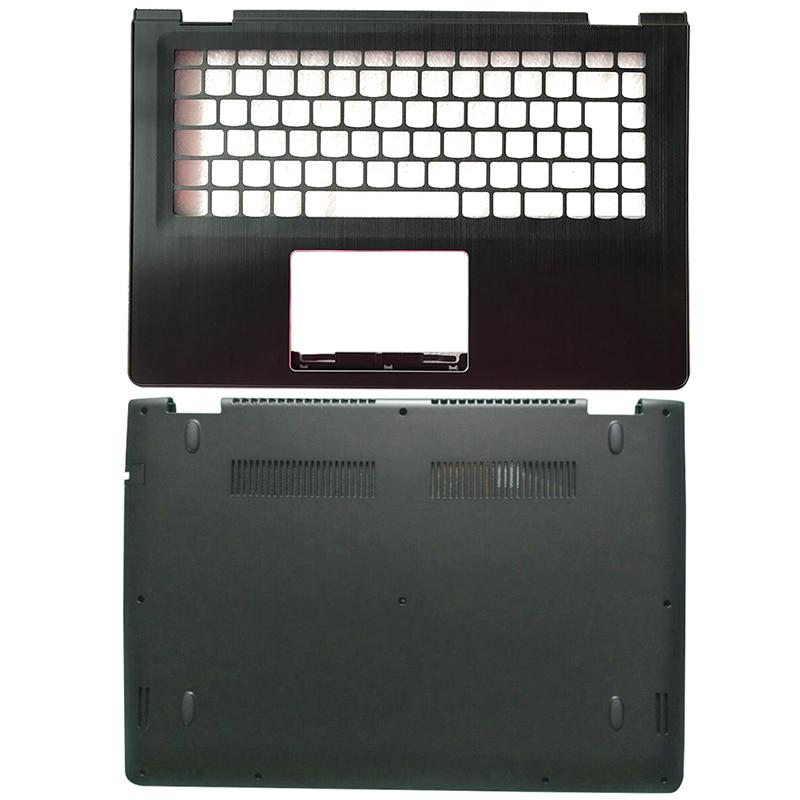 حافظة/الجزء السفلي من الكمبيوتر المحمول Palmrest حافظة لهاتف Lenovo Yoga 500-14 500-14IBD Flex 3 14 Flex 3-1470 1435 1475 حافظة علوية للكمبيوتر المحمول