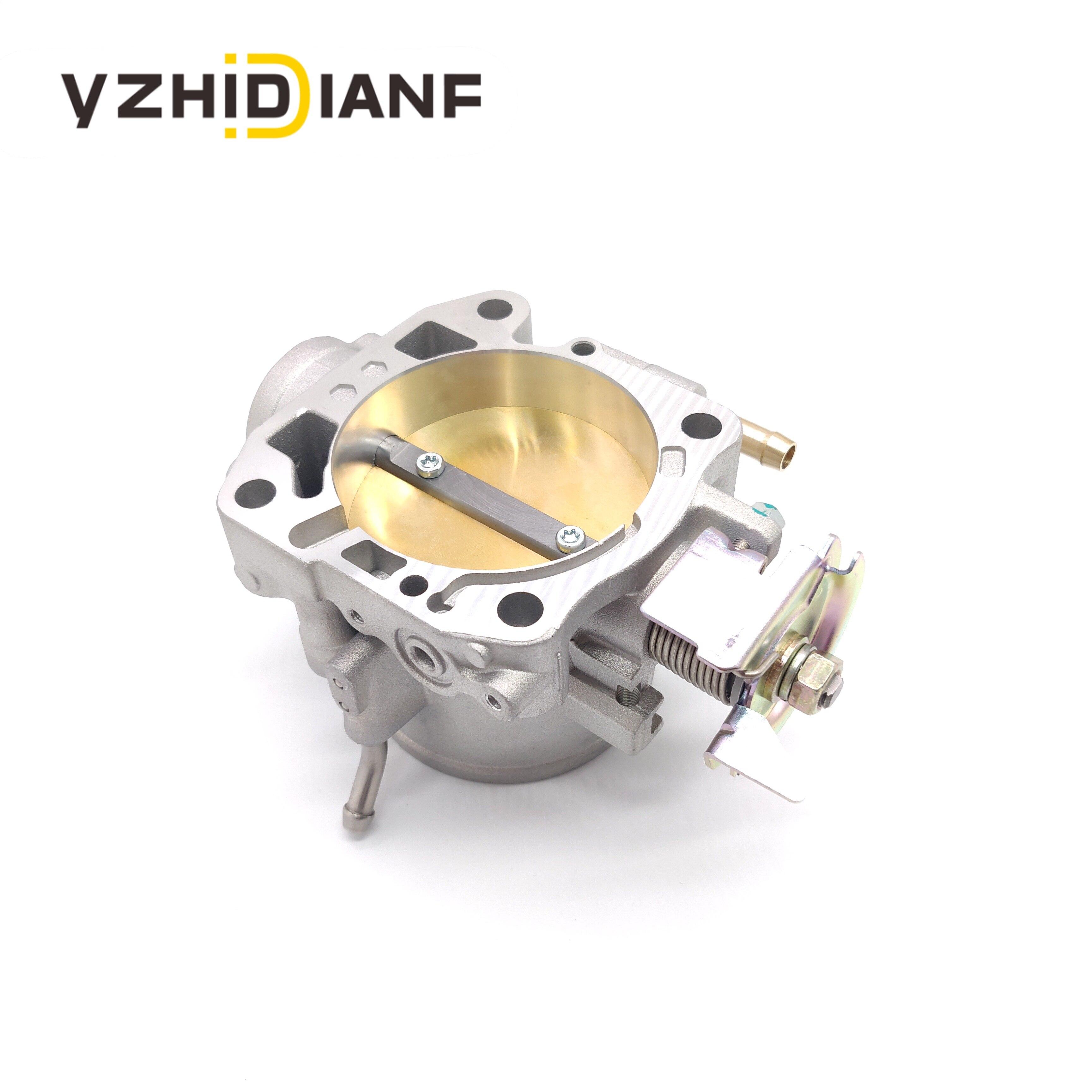 1 pieza del cuerpo del acelerador para Honda-B16 B17 B18 B20 D15 D16 F20 F22 H22 H23 AP03 70mm de aluminio fundido cuerpo del acelerador VR6959 309-05-1050