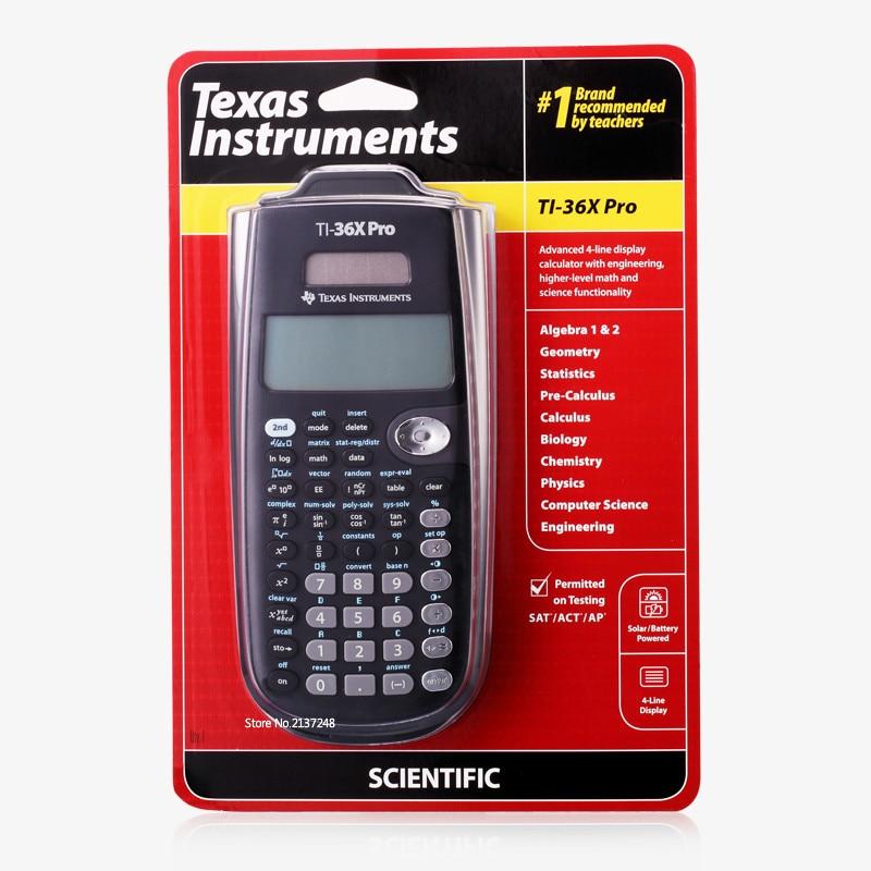 تكساس إنسترومنتس جديد الأصلي Ti-36x برو آلة حاسبة علمية رائجة البيع حساب التفاضل والتكامل العلمي لطيف