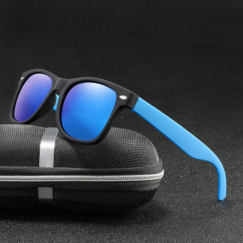 Polaroid Sunglasses Unisex Square Vintage Sun Glasses Famous Brand Retro Polarized Sunglasses Retro Feminino for Women Men