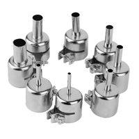 8PCS Hot Air Gun BGA Nozzles Tool Kits For 850 852D Series Hot Air Soldering Station Rework ICs Repair Tools Nozzle