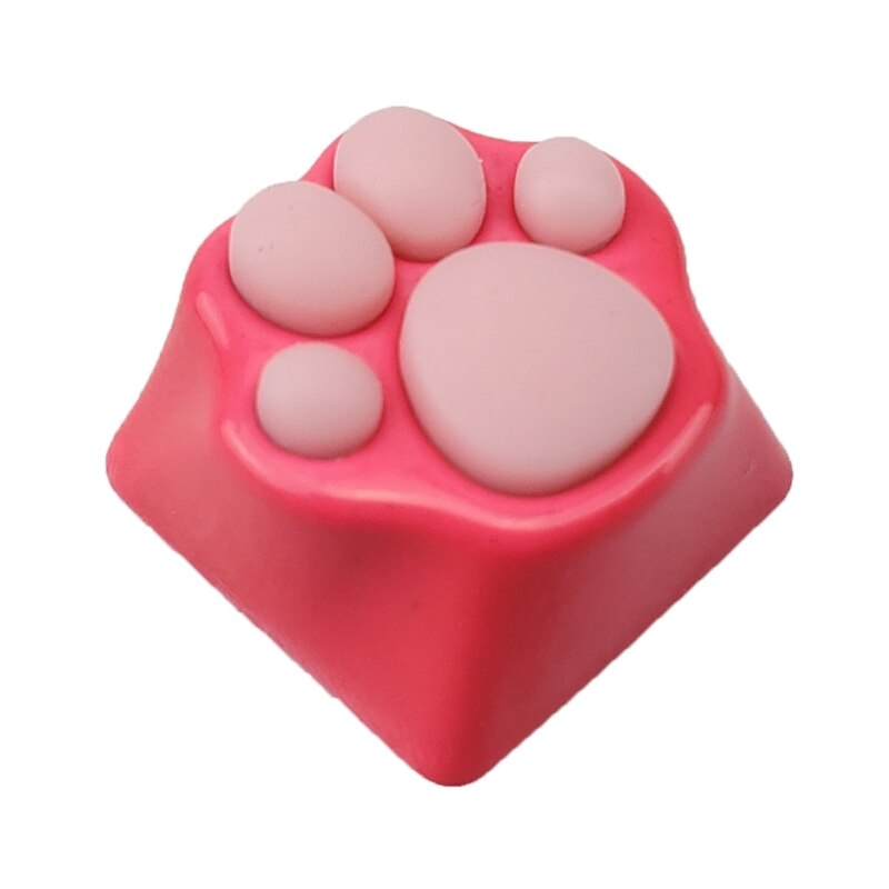 Lovely Cat Paws Pad Mechanical Keyboard KeyCaps for cherry MX Switches 45BA enlarge