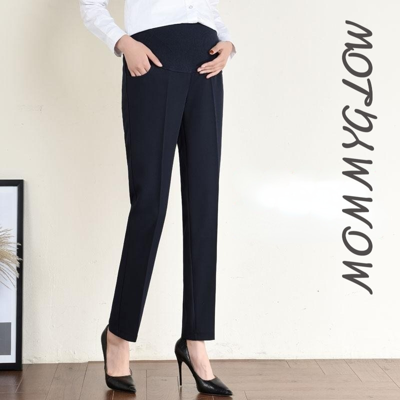 Warm Maternity Pants for Pregnant Women Pregnancy Pants for Work Women Pregnant Mommy Pregnant In Winter 2021