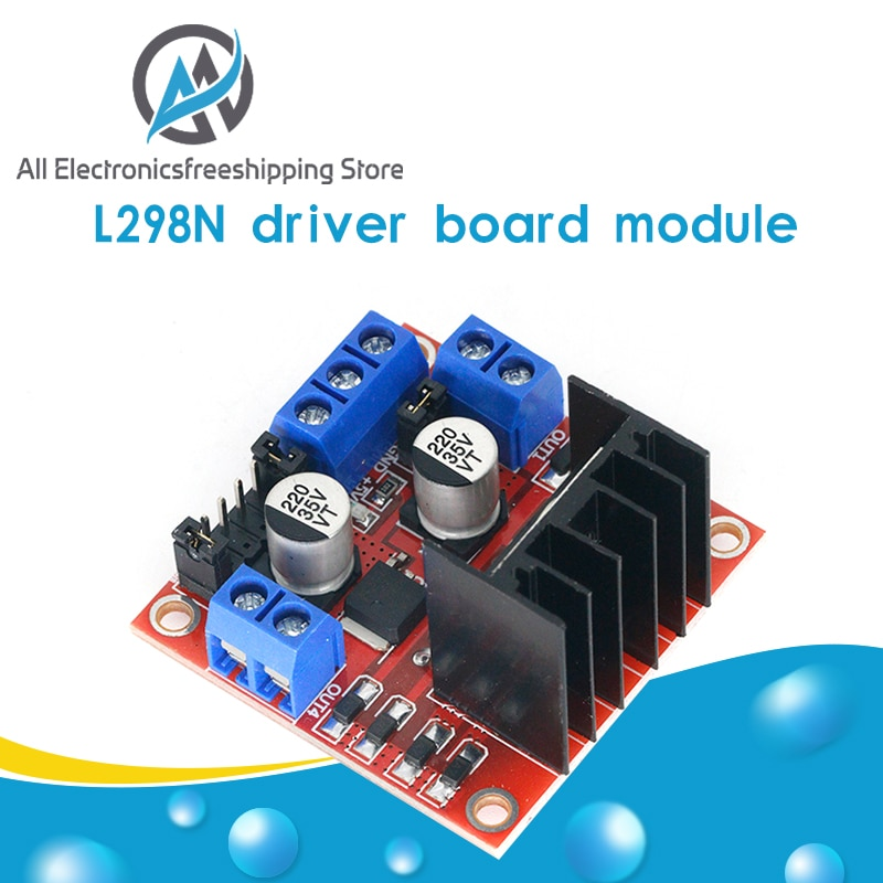 1pcs L298N driver board module L298 stepper motor smart car robot breadboard peltier High Power