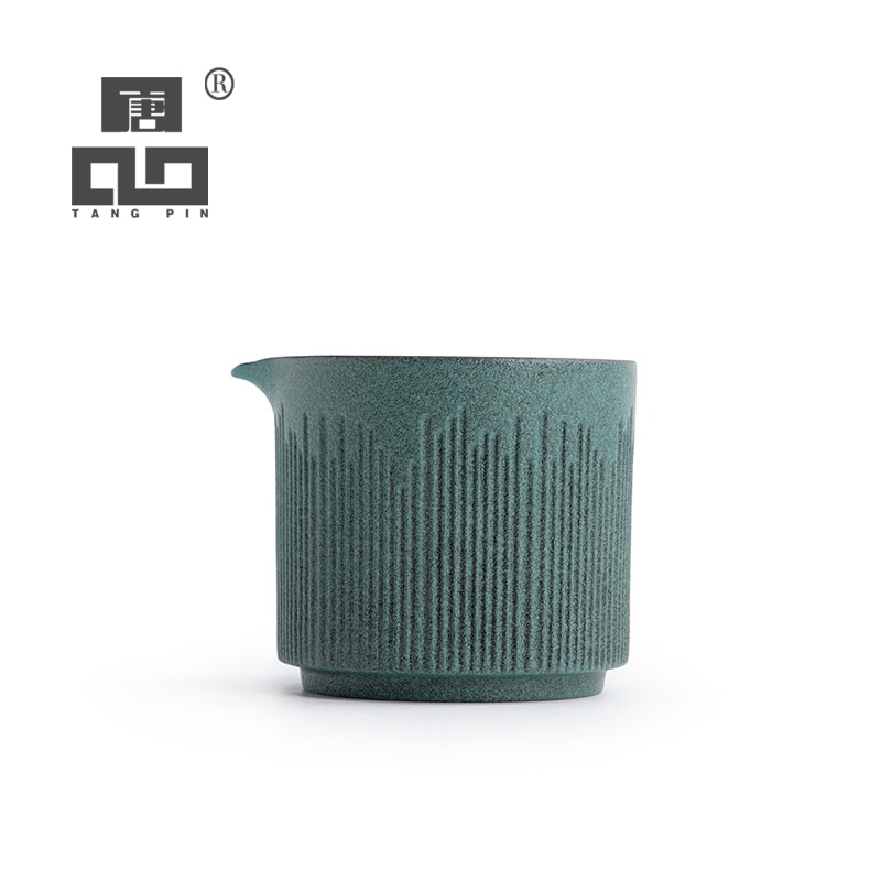 TANGPIN keramik tee krüge grün chahai chinesischen tee zubehör 150ml