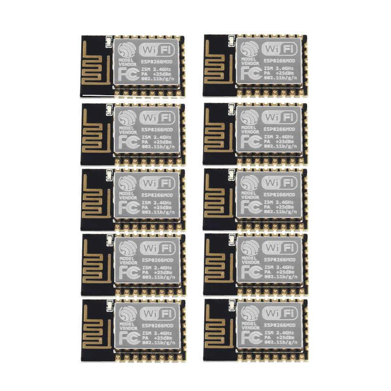 10PCSESP8266 ESP-12E Serial WIFI Model ESP-12F Upgrade Remote Wireless WIFI Module ESP12 4M Flash недорого