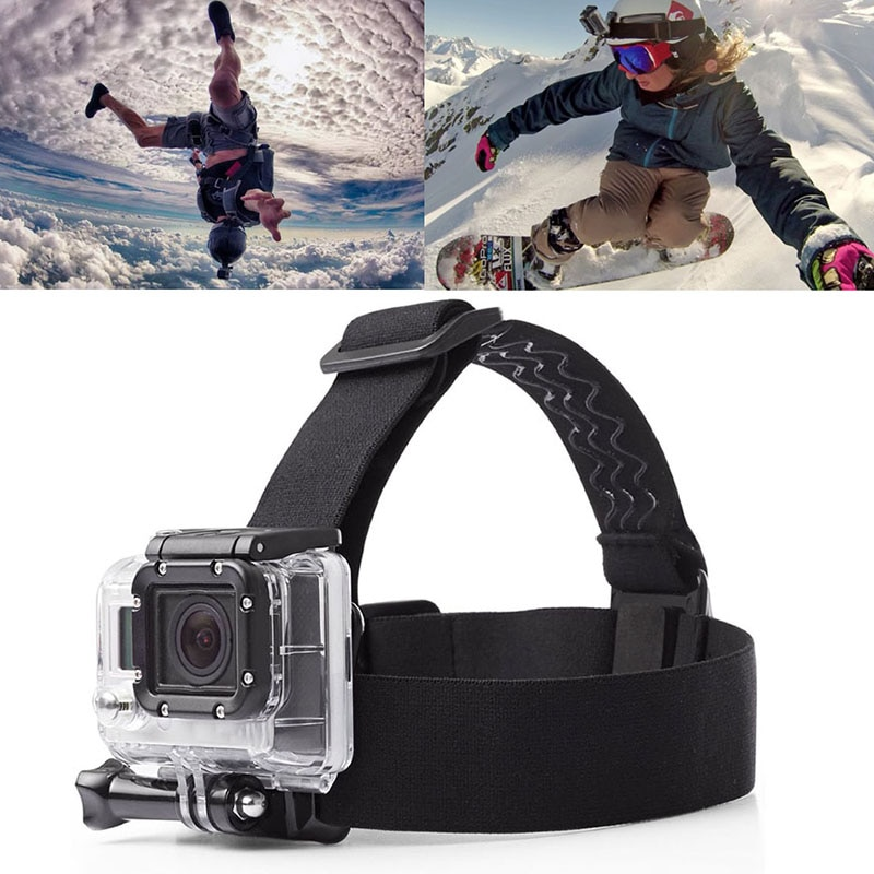 For Go Pro Mount Belt Adjustable Head Strap Band Session For Gopro Hero 7 8 9 Sports Action Video Camera Accessories For Gopro