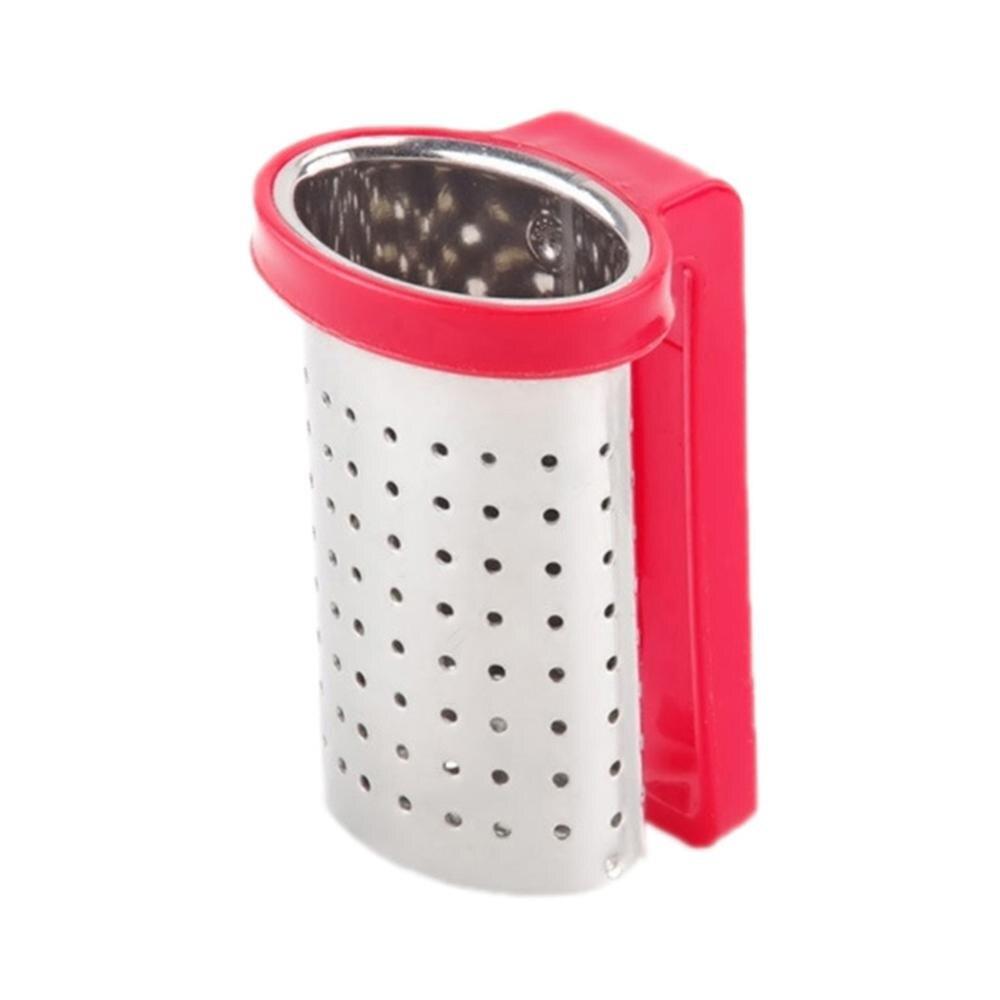 1 Infusor De té, colador De té De acero inoxidable para dulces, bolsa De té reutilizable, accesorio para tetera Infusor De Te Infusor