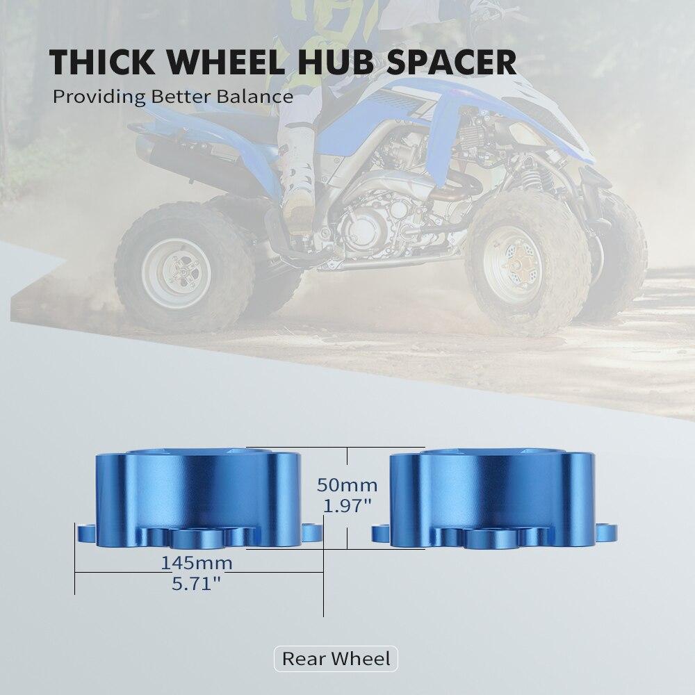 NiceCNC  Rear Wheel Hub Centric Spacers For Yamaha YFZ450 2006 YFZ450R 2014-2021 Raptor 700 700R 2006-2021 ATV Accessories enlarge