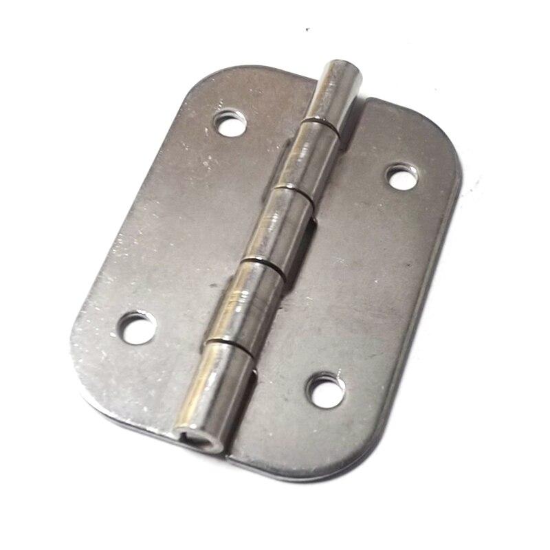 6 قطعة 60X40X1.5 Filleted الزاوية الفولاذ المقاوم للصدأ الاستثمار الصب الثقيلة شقة المفصلي ل صندوق توزيع كهربائي