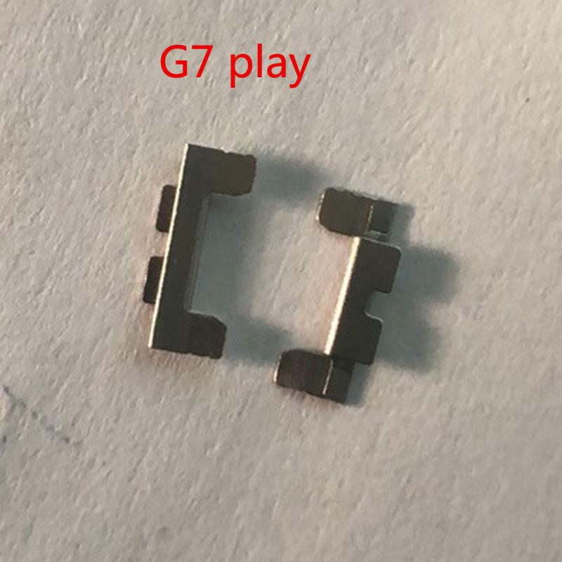 Original For Motorola Moto G7 play Power Volume Button Metal Spacer Shim Holder Parts enlarge