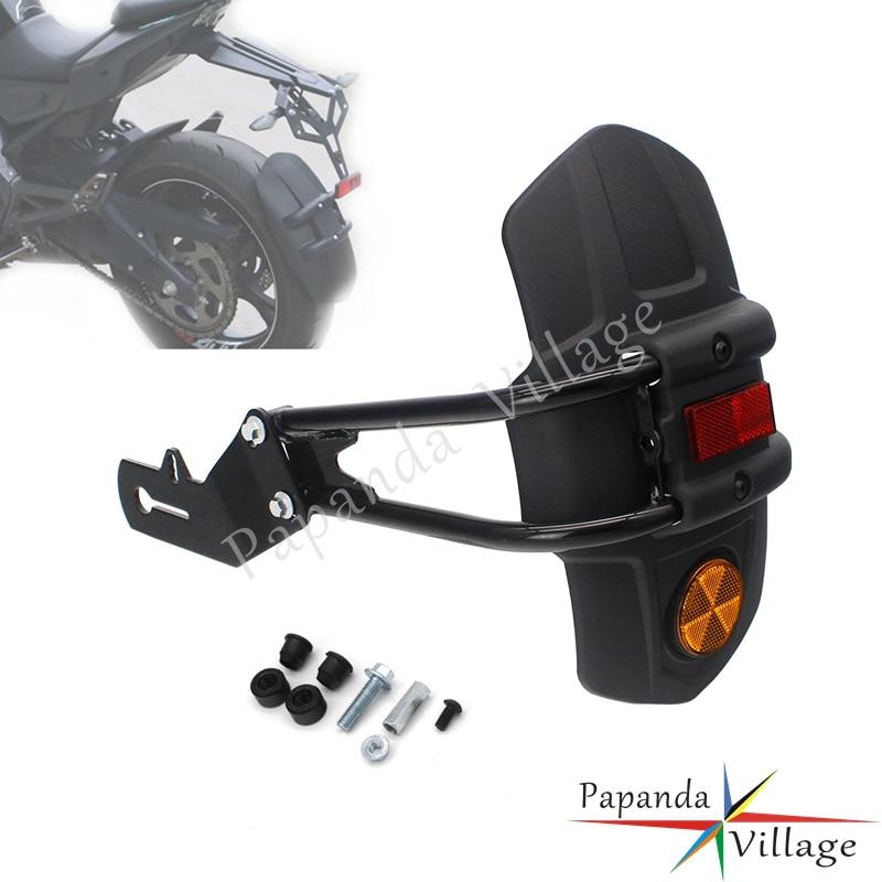Guardabarros trasero para motocicleta, guardabarros para Suzuki GW250 SV400N Honda CB NC NC750 CRF1000 CBR1000RR YAMAHA XTZ250 Hugger Mud Flap