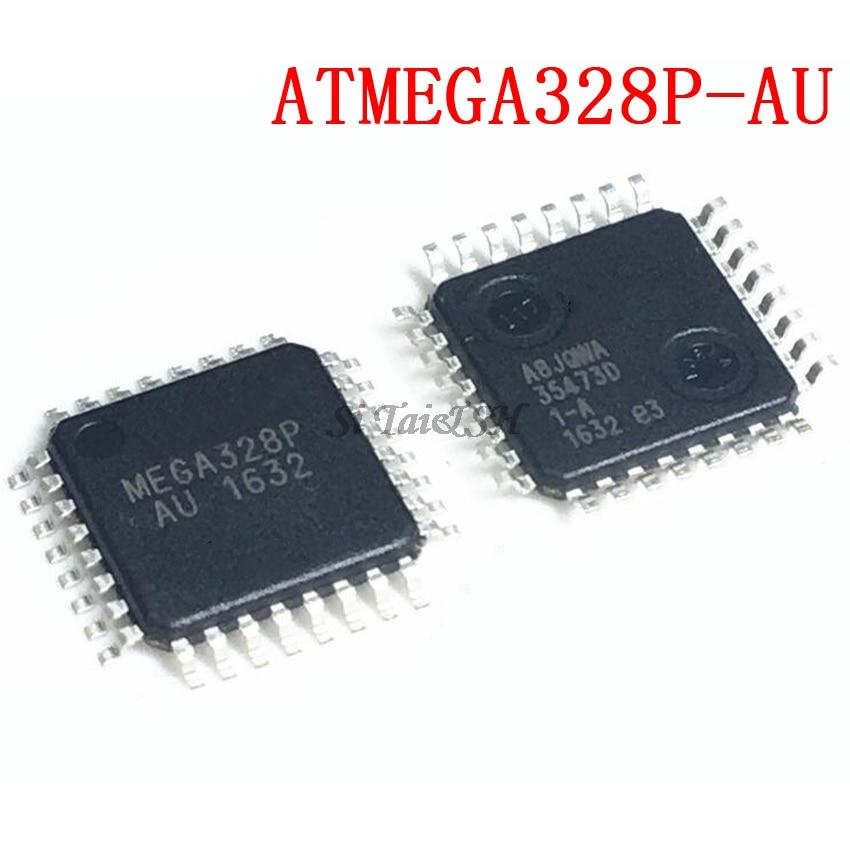 2 шт. ATMEGA328P-AU QFP ATMEGA328-AU КБ ATMEGA328P MEGA328-AU SMD новый и оригинальный IC