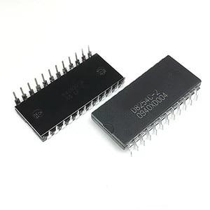 2PCS -1lot UPD8254C-2 D8254C-2 DIP-24 integrated circuit IC chip D82C54C-2 D8253C-2 D82C53C-2