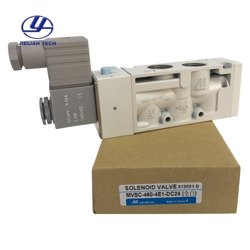 MVSC-460-4E1 100% Taiwán MINDMAN válvula solenoide de aire electromagnética Control