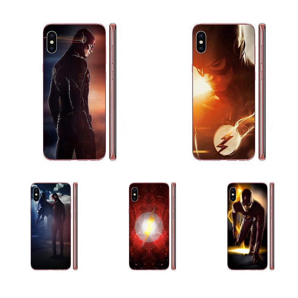 Para Apple iPhone 11 Pro X XS X Max XR 4 4S 5 5C 5S SE SE2 6S 6 7 8 Plus en venta 2019 de los superhéroes el Flash, Barry Allen, serie de Tv