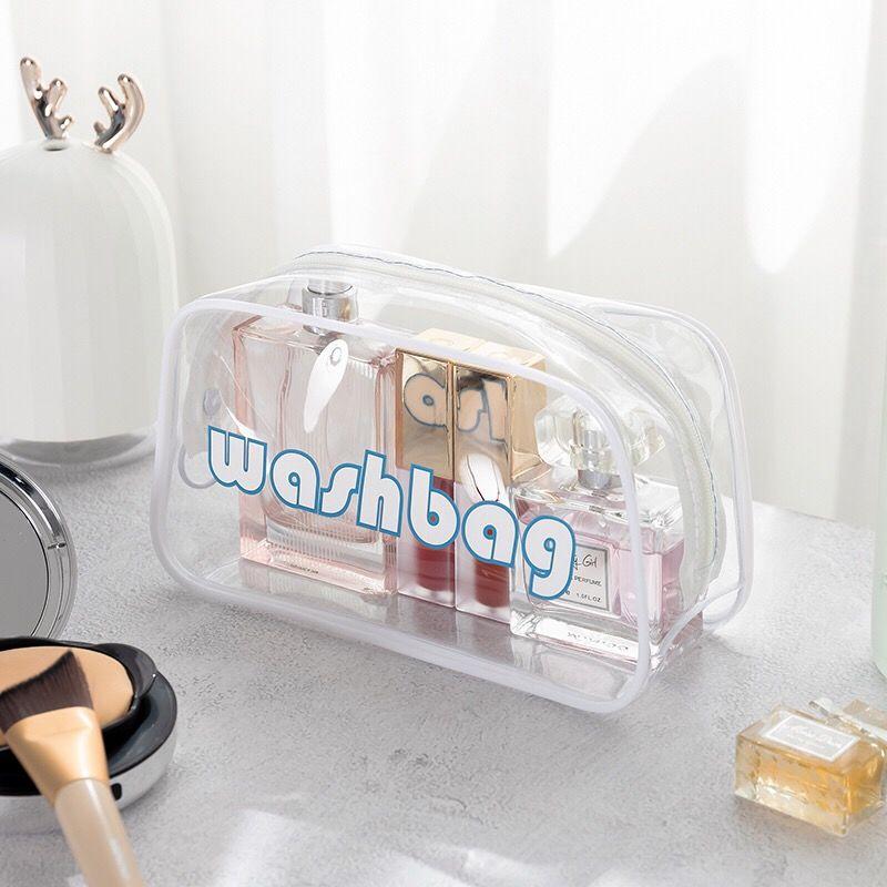 Kosmetyczka-Neceser Para Mujer, bolsa de almacenamiento transparente, accesorios cosméticos, Neceser de viaje