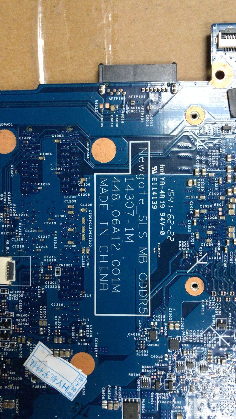 KEFU14307-1M 448.06A12.001M para ACER VN7-792 VN7-792G portátil placa base CPU I7 6700HQ...