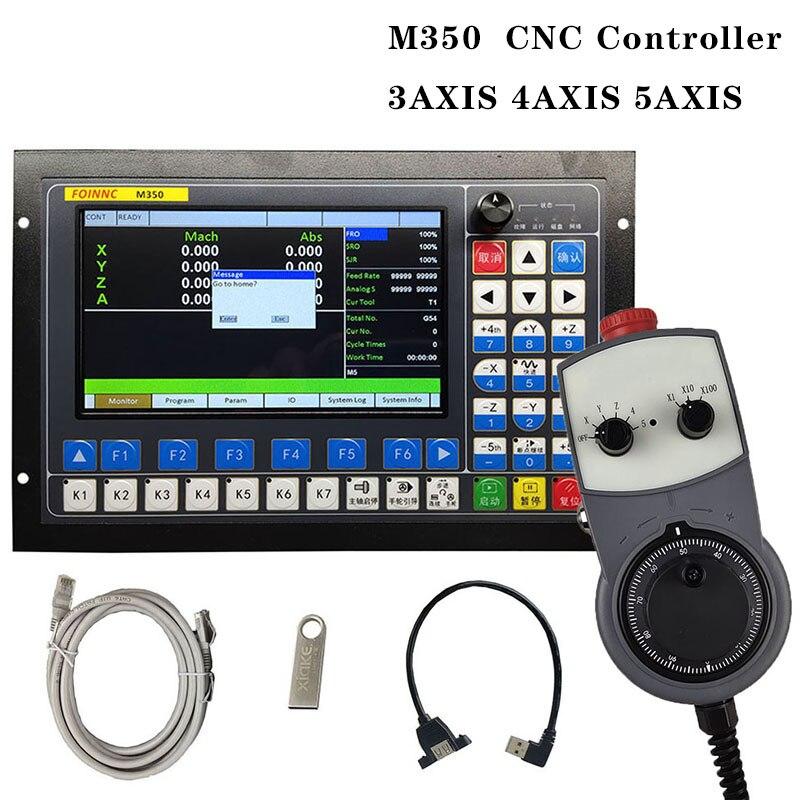 M350 3 محور 4 محور 5 محور نظام التحكم في الحركة تحكم باستخدام الحاسب الآلي دعم مصد حلقي مغلق و ATC تحكم 1 ميجا هرتز G رمز U-القرص