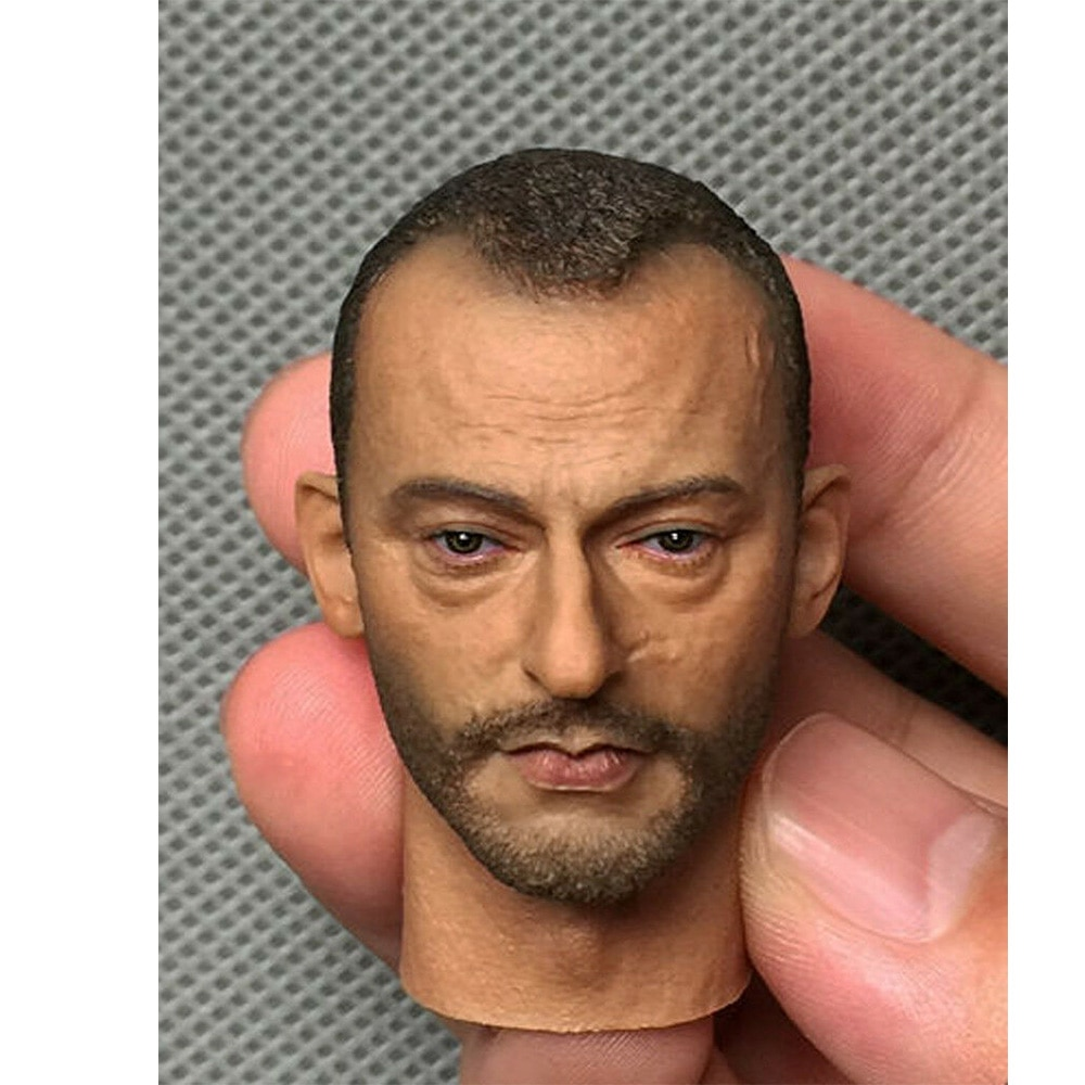 1/6 película Jean con estrella Reno cabeza tallada para 12 pulgadas figura de acción