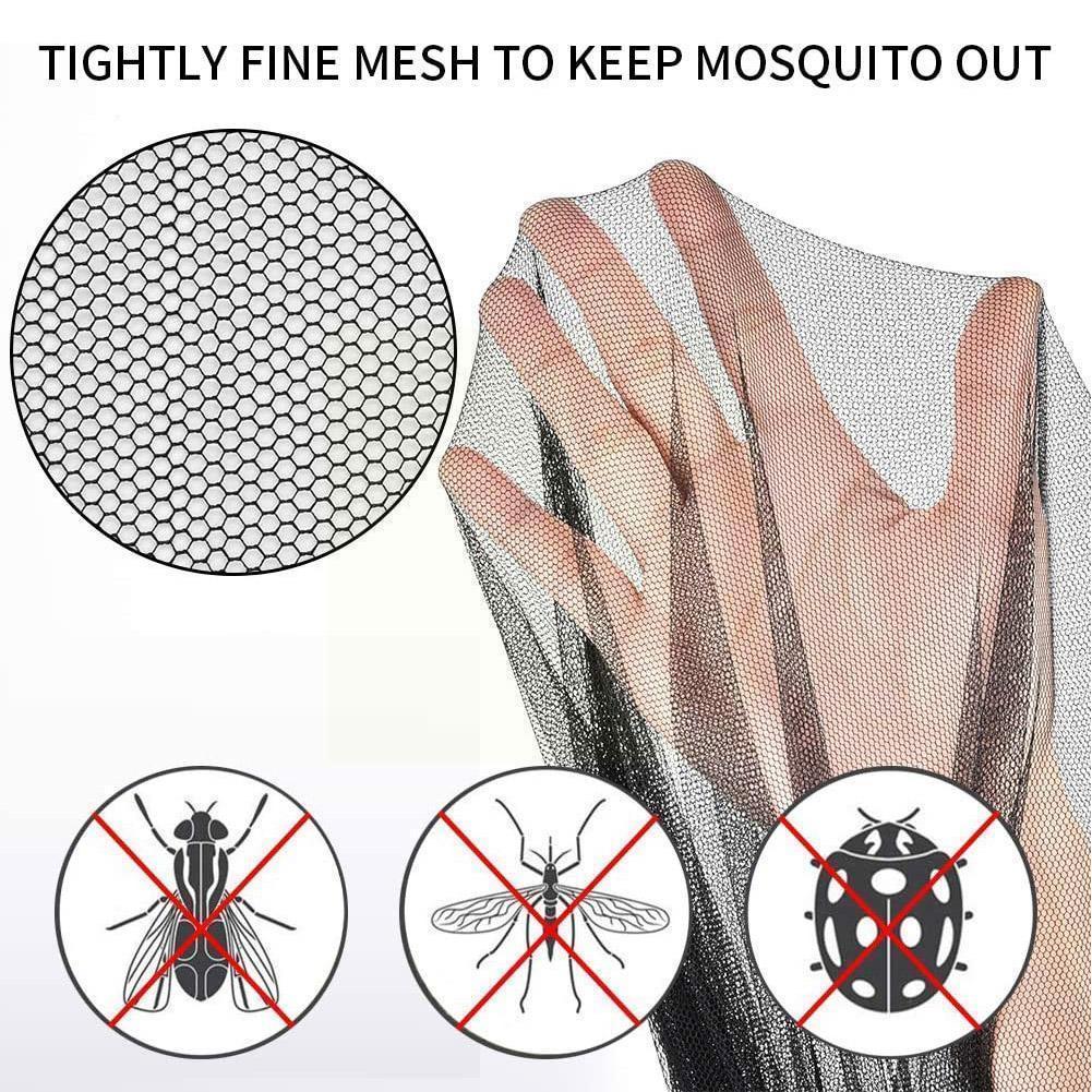Уличная туристическая черная водонепроницаемая сумка, портативная сетка от насекомых и комаров, легкий коврик для отдыха на открытом возду...