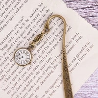 alloy bookmark kawaii metal bookmarks vintage tower book marker paper clips for children gift student stationery