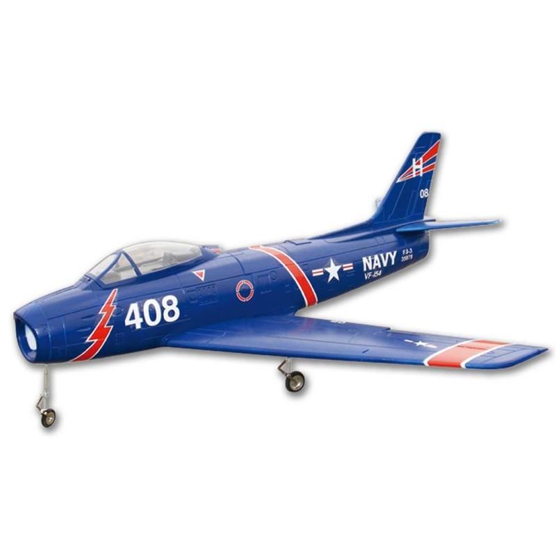 Flyfly – avion à Jet RC F86 Sabre FF-D005 en mousse EPS