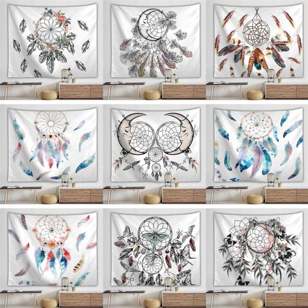 Богемный гобелен настенные гобелены Ловец снов узор Декор Геометрическая настенная ткань печать Tapiz дом Декор для спальни