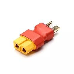 Amass xt60 fêmea para t plugue macho adaptador conector para carregador lipo baterry rc modelos