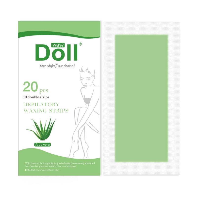4 Style Fragrance 20PCS/set Professional Depilatory Paper Hair Removal Waxing Strip Non Woven Full Body Limbs Arm Leg Hair TSLM1