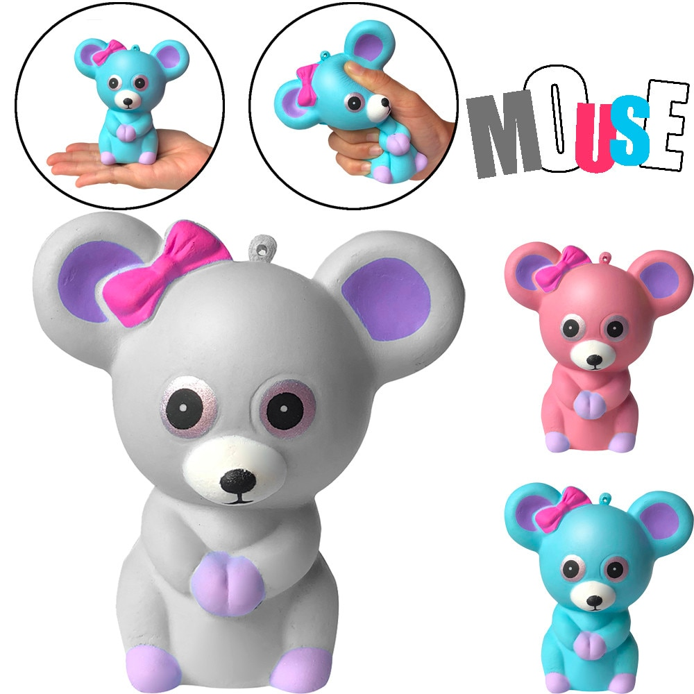 Scented Squeeze Mouse Toys Slow-rising Cream Squeezed Animal Decompression Toy Finger Toy That Releases Pressure From Adults