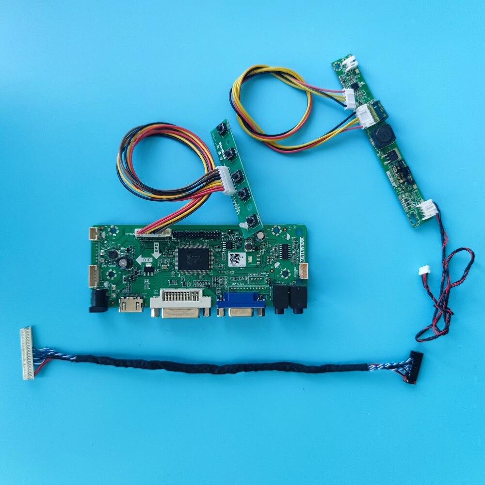 عدة ل LM230WF5-TRC2/TLD3/TLB1 LVDS DVI لوحة تحكم مجلس VGA شاشة مراقبة LED LCD 1920X1080 بطاقة الصوت لتقوم بها بنفسك 23
