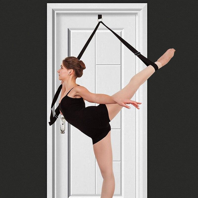 Deur Flexibiliteit Stretching Been Brancard Band Verstelbare Sport Yoga Ballet Band Oefening Zachte Been Thuis Workout Gym Apparatuur