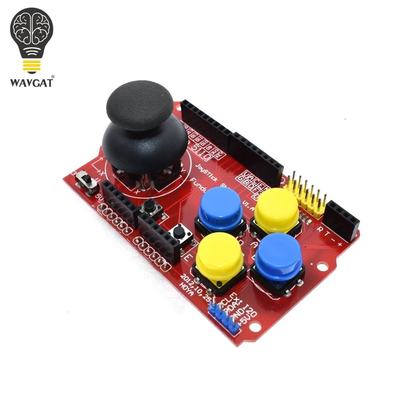 WAVGAT Gamepads JoyStick teclado escudo PS2 para Arduino UNO NRF24L01 Nk 5110 LCD I2C