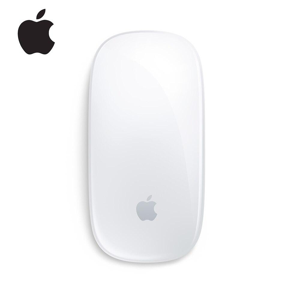 Mouse apple magic 2 sem fio, mouse bluetooth para mac book air mac pro, ergonômico, design multi-touch, bateria recarregável