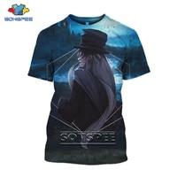 sonspee 2021 new anime men women tees 3d print comfortable fashion harajuku fashion dark horror loose sleeve oversized t shirt