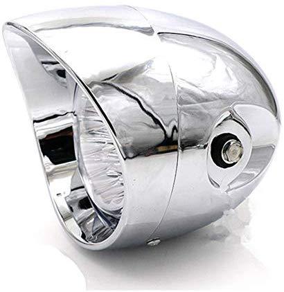 Передняя светодиодная фара для мотоцикла, цилиндрическая лампа 7 дюймов для Harley, Honda, Suzuki, Cafe, Racer, Old School