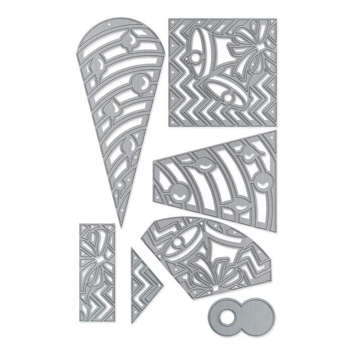 New Metal cutting dies pandoras box add on cut die mold card Scrapbook paper craft knife mould blade punch stencils