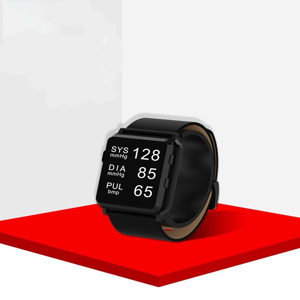 2021 الأكثر مبيعا عالية الجودة متعددة الوظائف الأسرة الطبية ريال LED ساعة رياضية OEM المعصم مقياس ضغط الدم BP مراقب