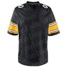 Jugend Jersey American Football Pittsburgh Sport fans Tragen T.J. Watt Juju Smith-schuster Ben Rorthlisberger Fitzpatrick Trikots