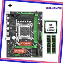 Ordinateur bricolage huanzhi X79 micro-atx carte mère CPU RAM combos CPU Intel Xeon E5 2640 SROKR 2.5GHz RAM 8G(2*4G) DDR3 REG ECC