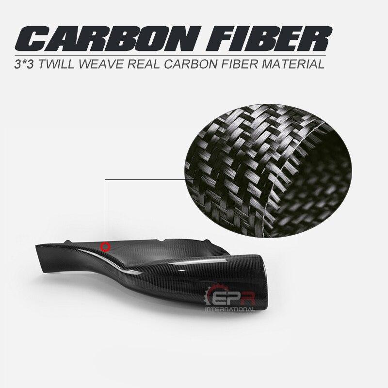 Estilo de coche TMS-estilo de fibra de carbono lado derecho de entrada de aire 1pcs Glossy Fibre Tuning Duct Vent motor Body Kit para Toyota MR2 SW20