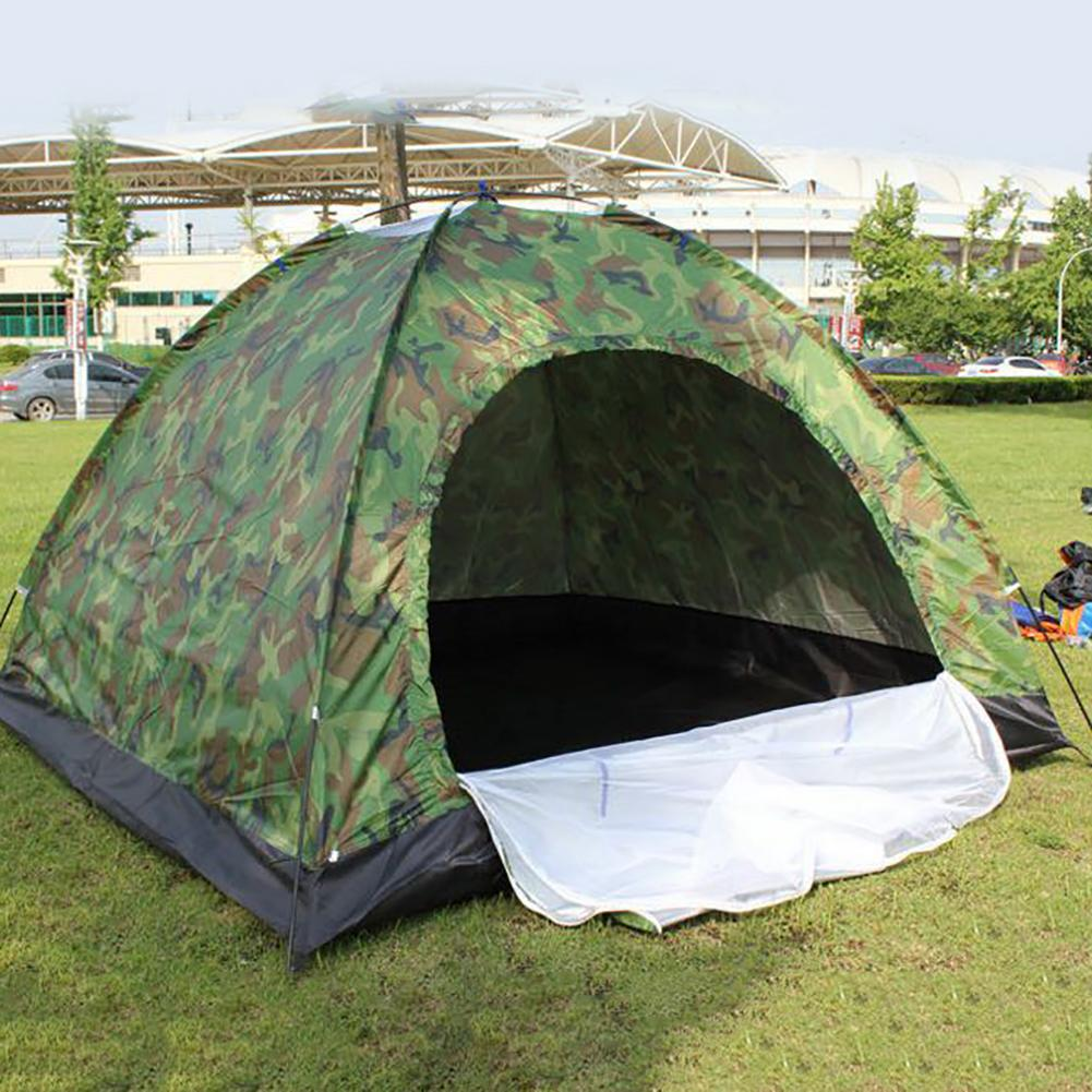 Large Anti-uv Heave Up Tent Outdoor Camping Hiking Portable Beach Mountaineering Waterproof Tent Fishing Tents Patchwork Tents