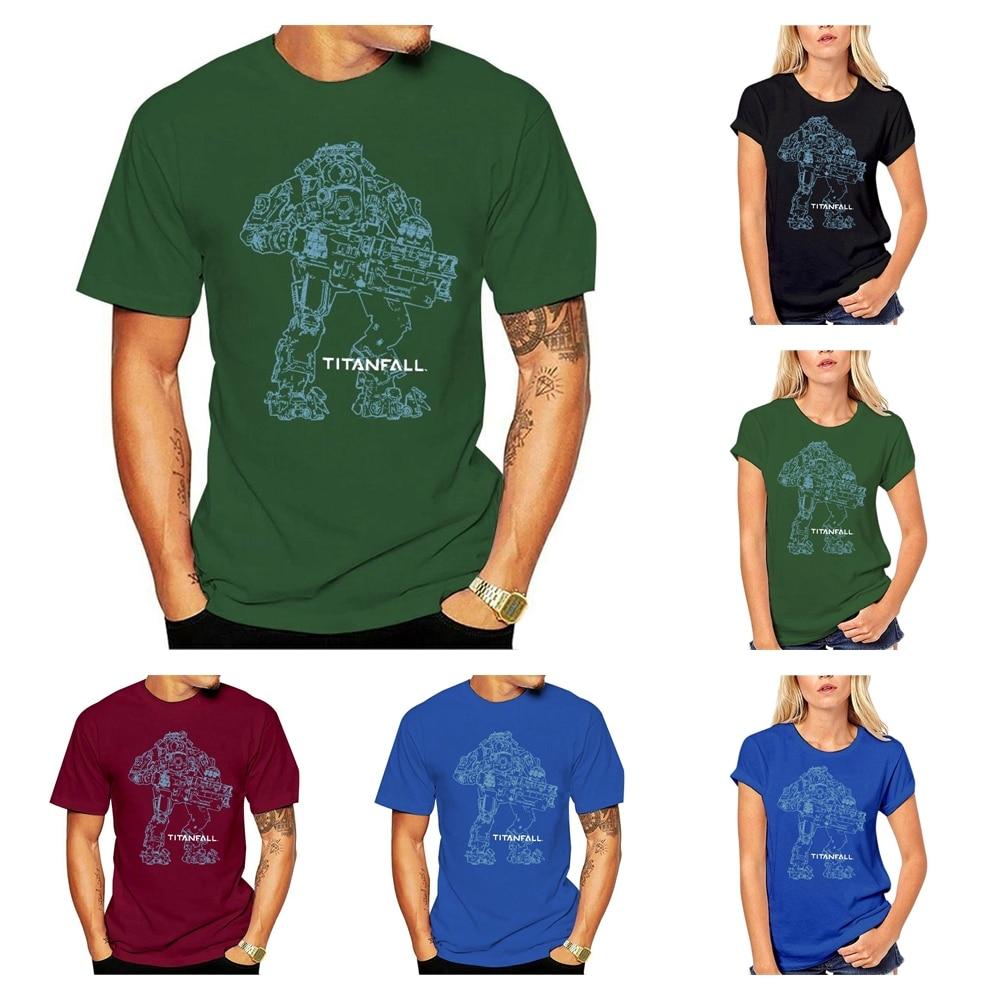 Camiseta oficial titandrop Titan 2 Bt Arte De Línea Unisex, camiseta de...