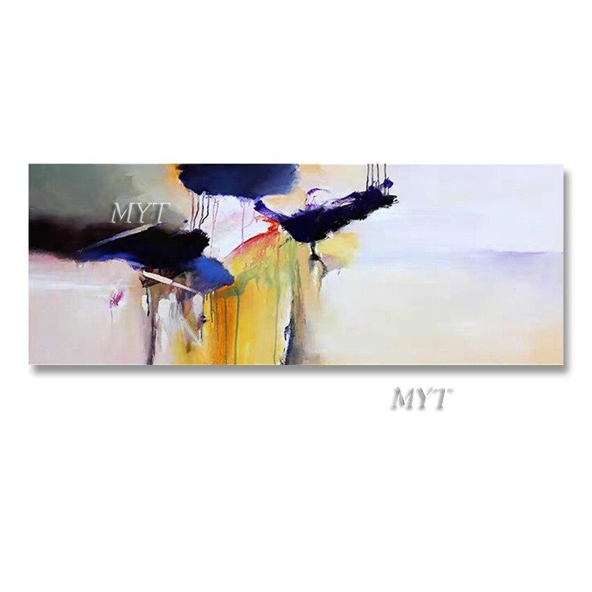 Ручная роспись, большой размер, абстрактный простой дизайн, холст, картина маслом, современное изобразительное настенное искусство, украше...