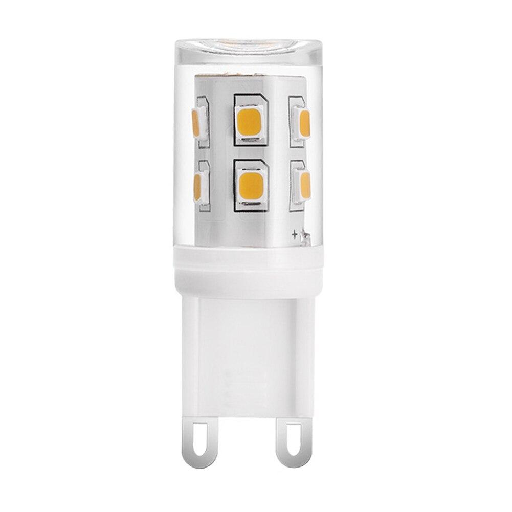 Halogênio G9 2W Super Brilhante Decoração de Casa 220V Não Regulável Led Substituição de Lâmpada de Milho de 360 Graus Brilho Cerâmica prático