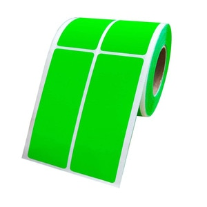 500 Pcs Name Tags Sticker Green Color Code Labels File Folder Label Adhesive Filing Envelopes Bottle Cup Green Rectangle Label