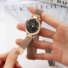 Top brand women watches Mini Casual Quartz Stainless Steel Band Marble Strap Watch Analog girl Wrist