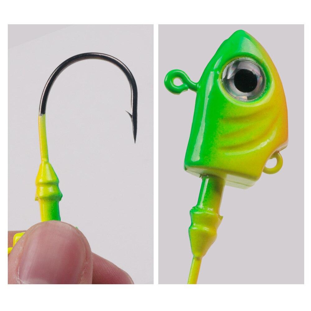 10g 15g 20g 29g 40g 43g  Crank Jig Head Hook Fishing Hook Lead Head Jig Lure Hard Bait Soft Worm Jig Hook for Fishing enlarge